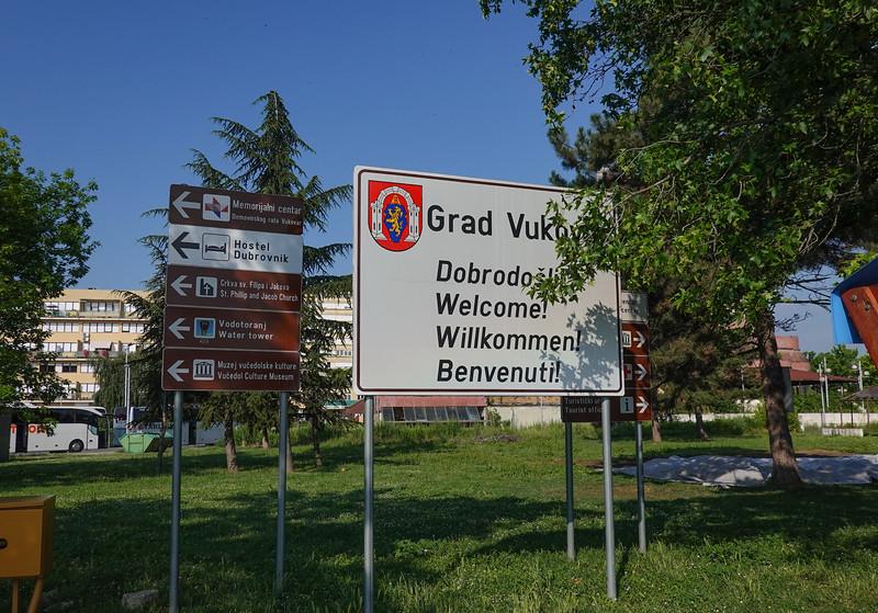 Welcome to Vukovar, Craotia.