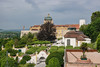 The Melk Abbey and Gardens. Melk, Austria.