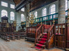 The old Portuguese Synagogue in Amsterdam's Jewish Quarter.