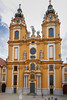 The church inside Melk Abbey, Melk, Austria.