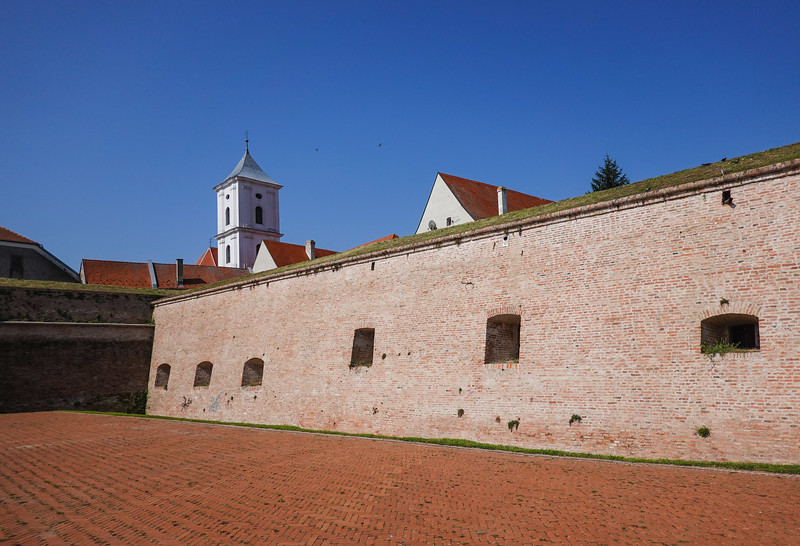 Tvrđa fortress was initially built shortly after the Turks were first driven out of Osijek, their brief but dangerous return prompting swift completion in the early 1700s. A military complex for nearly 200 years, the bastion saw many of its walls taken down in the 1920s. Croatia.
