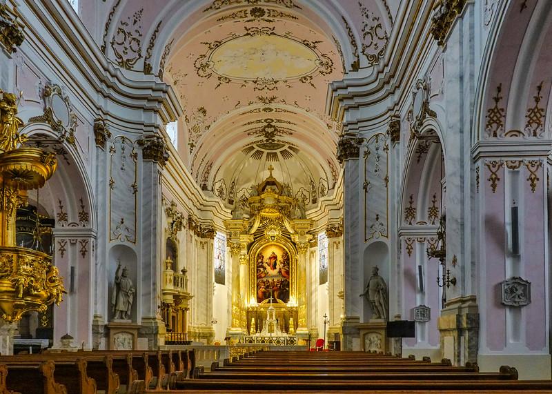 The Assumption Cathedral  of the  Roman Catholic Archdiocese of Kalocsa-Kecskemét.  Kalocsa, Hungary.