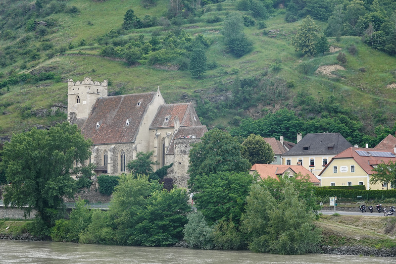 Wehrkirche St. Michael's Church on the Danube. This is the oldest church in Austria with the oldest organ in Europe, in a tiny village of 17 homes that take such good care of this church as well as their farms,. It is believed to date from 987.
