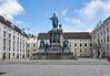 Statue of Francis II, Holy Roman Emperor (then Emperor of Austria, in Joseph's Square, Vienna, Austria.