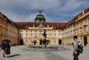 Melk Abbey Courtyard, Austria.