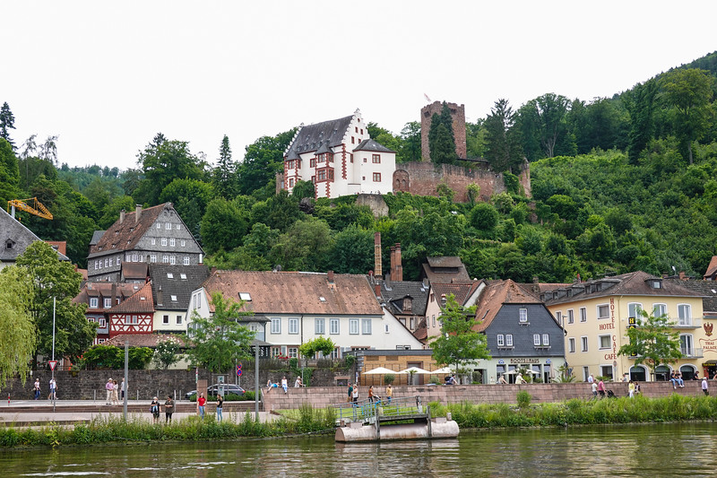 The Miltenberg Castle ruins above Miltenberg, Germany.