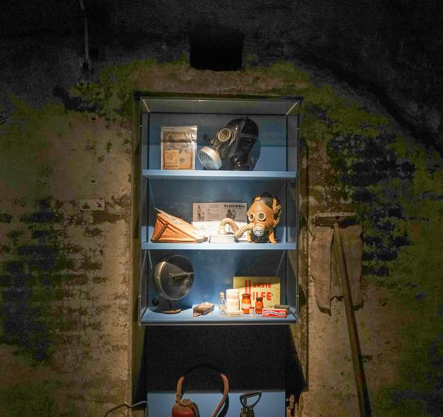 Parts of the Nuremberg underground cellars speak for themselves.