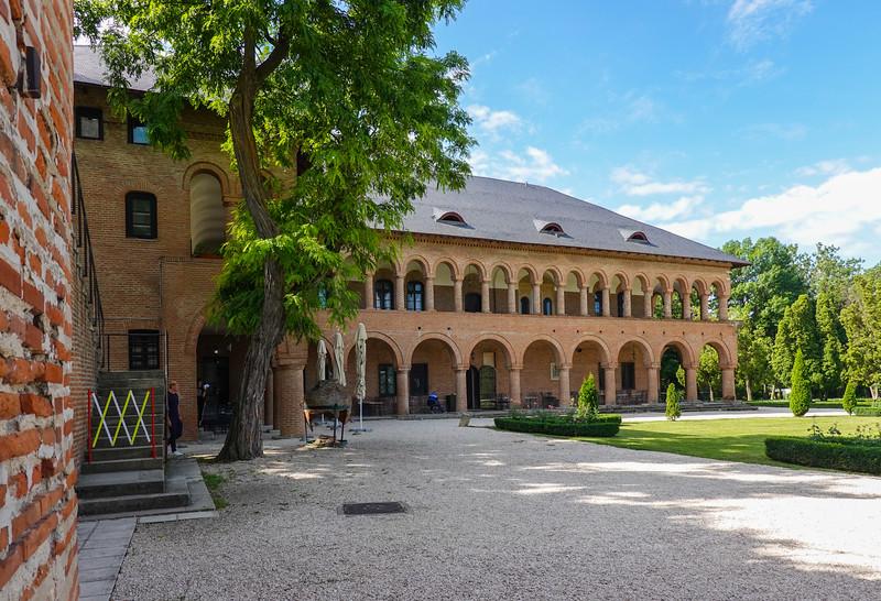 Part of the Mogosoaia Palace grounds outside Bucharest, Romania.