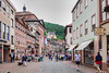 Shopping district for tourists in Miltenberg, Germany.