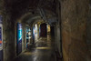 Inside the tunnels and chambers under Nuremberg that stored the art and other treasuries during the war.  Think Monument's Men.