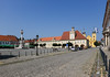 Trinity Square in Osijek, Croatia.