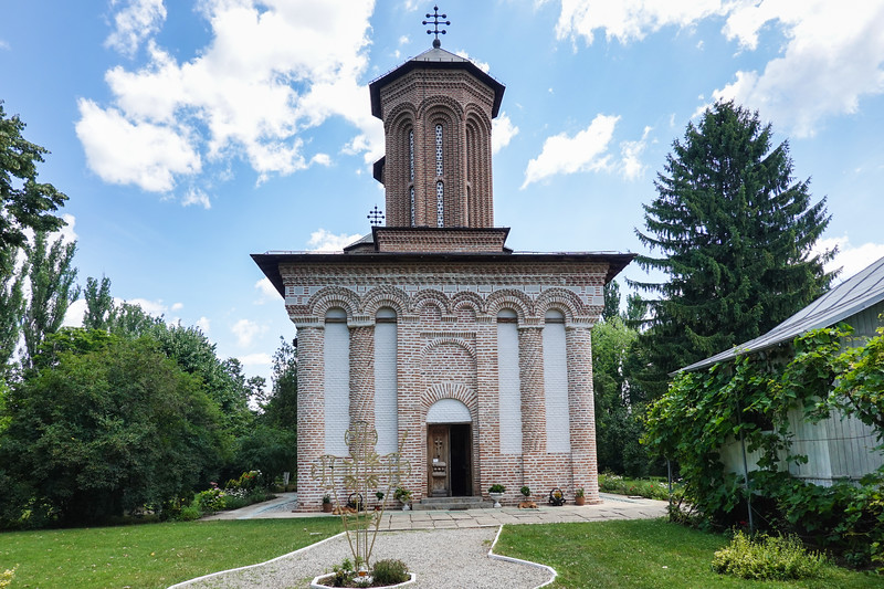 The Snagov Monastery, Romania is located on a tiny island in a lake just outside of Bucharest. Local tradition states is the burial place of Vlad the Impaler, the inspiration for Bram Stoker's Dracula. .