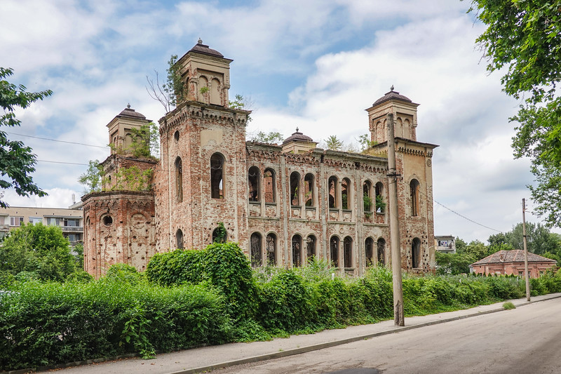 Despite being in ruins, the synagogue in Vidin, Bulgaria is still famous for being the second-largest Jewish temple in Bulgaria. Built in 1894, it fell into disuse after the local Jews left Bulgaria being shipped to  death camps during  World War II.