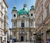 The Peterskirche (English: St. Peter's Church) is a Baroque Roman Catholic parish church in Vienna, Austria. It was first mentioned in writings from 1137.