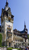 This is Peleș Castle which is a Neo-Renaissance castle in the Carpathian Mountains, near Sinaia, in Prahova County, Romania, on an existing medieval route linking Transylvania and Wallachia, built between 1873 and 1914. Its inauguration was held in 1883. It was constructed for King Carol I