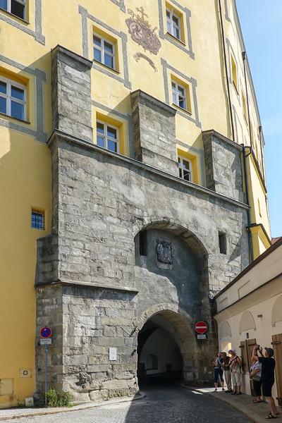 One of Passau's  original city gates from 1143.