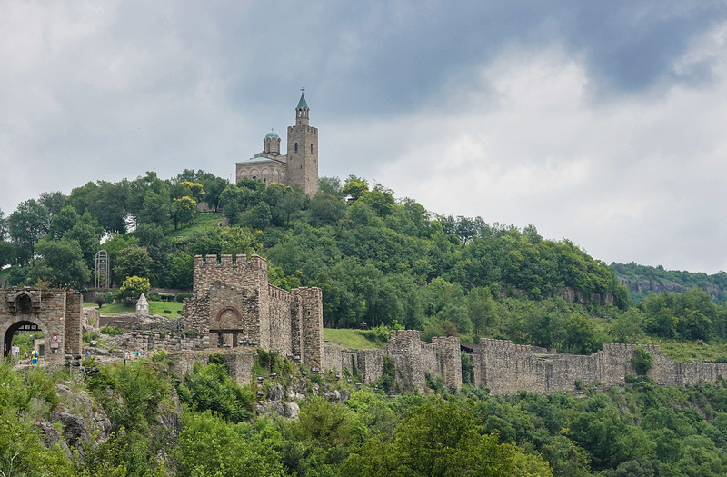 Tsarevets is a medieval stronghold located on a hill with the same name in Veliko Tarnovo in northern Bulgaria. Veliko Tarnovo was built on three hills: Tsaravets, Trapezitsa, and Sveta Gora, Bulgaria.