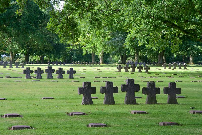German WWII Cemetery, La Cambe