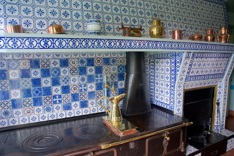 Claude Monet's Giverny Kitchen