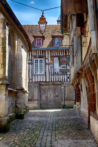 Medieval Street, Honfleur