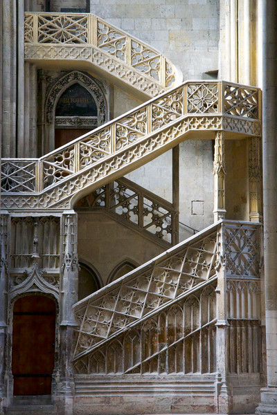 Rouen Cathedral Staircase