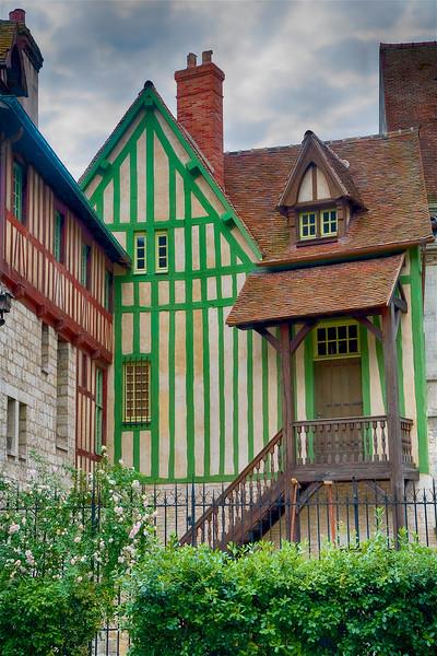 Half Timbered Home, Rouen
