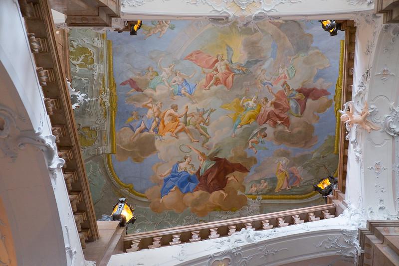 Ceiling paintings in Passau.