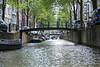Touring the Amsterdam Waterways.
