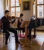 Concerto inside Lobkowicz Palace, Prague, Czech Republic.