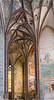 Art inside Saint Barbara's Church in Kutna Hora, Czech Republic.