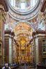 Inside the church inside Melk Abbey.