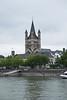GroB Saint Martin Church in Cologne, Germany.