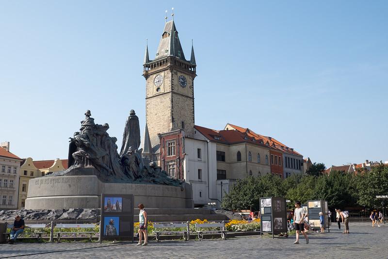 Prague Town Square area.