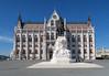 Original Hungarian Parliament Building in Budpest.