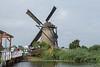 Museum Windmill at Kinderdijk.
