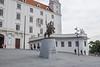 Grounds of the Bratislava Castle, Slovakia.