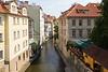 A canal through Prague, Czech Republic.