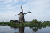 Windmill at Kinderjilk in a UNESCO Heritage area.