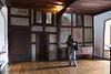 Living quarters inside Marksburg Castle.