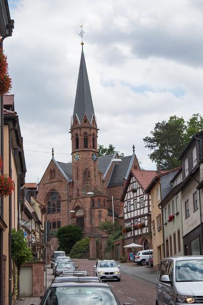Church in Miltenberg, Germany.