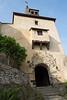 Starting entrance to Marksburg Castle.