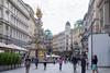 Vienna shopping district.
