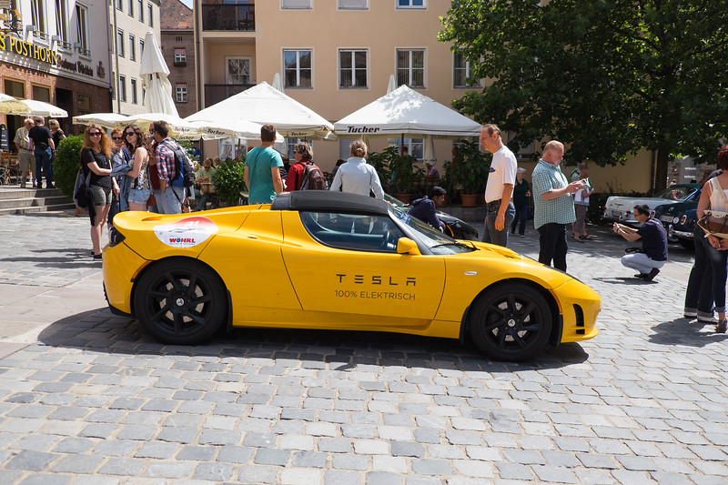 Small car show in Nuremberg.