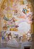 Wall paintings inside Saint Barbara's Church in Kutna Hora, Czech Republic.