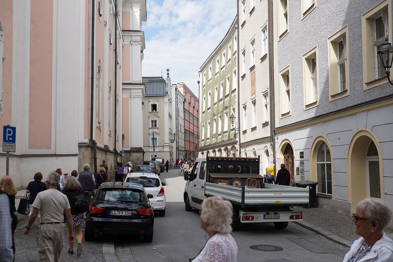 Streets of Passau, Germany.