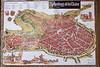 The medievel city of Rothenburg ob der Tauber, Germany.