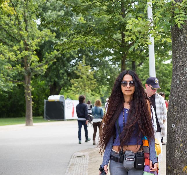 Tourist in Amsterdam