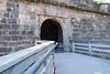 Entering Nuremberg Castle.