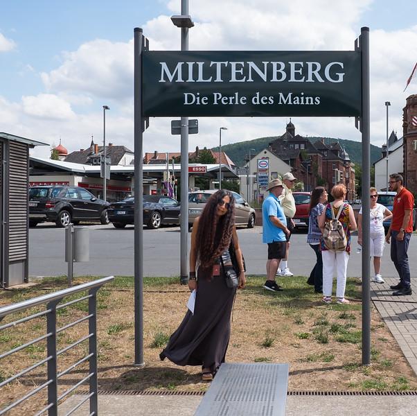 Pla in Miltenberg, Germany.
