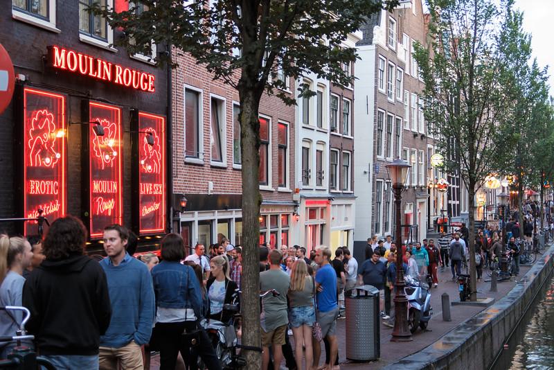 Amsterdam's Red Light District